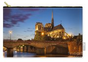 Cathedral Notre Dame Carry-all Pouch