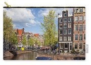 City Of Amsterdam Cityscape Carry-all Pouch