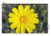 Crown Daisy Flower Carry-all Pouch