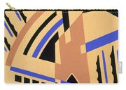 Design From Nouvelles Compositions Decoratives Carry-all Pouch by Serge Gladky