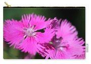 Dianthus Cross Carry-all Pouch