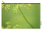 Dill Flower Carry-all Pouch