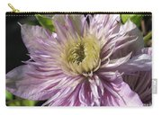 Double Clematis Named Empress Carry-all Pouch