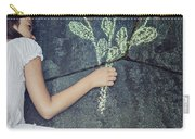 Flowers Carry-all Pouch by Joana Kruse