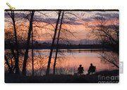 Fly Fishing At Sunset Carry-all Pouch