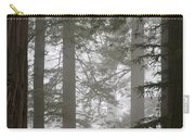 Foggy Coast Redwood Forest Carry-all Pouch