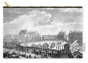 French Revolution, 1791 Carry-all Pouch