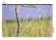 Great Blue Heron On The Prairie Carry-all Pouch