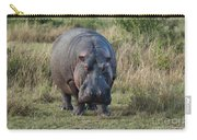 Hippopotamus Carry-all Pouch