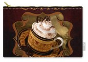 Cappuchino Coffee Gallery Carry-all Pouch