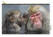 Japanese Macaques Carry-all Pouch