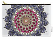 Kaleidoscope Colorful Jeweled Rhinestones Carry-all Pouch