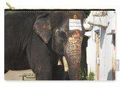 Lakshmi Temple Elephant Carry-all Pouch