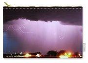 Late Evening Nebraska Thunderstorm Carry-all Pouch