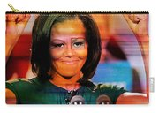 Michelle Obama Carry-all Pouch by Marvin Blaine