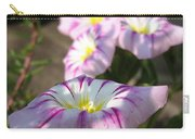 Morning Glory Named Pink Ensign Carry-all Pouch