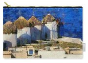 Mykonos Town Carry-all Pouch