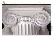 Neoclassical Ionic Architectural Details Carry-all Pouch