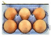 Organic Eggs Carry-all Pouch by George Atsametakis