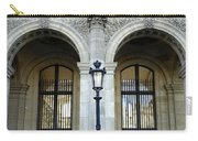Ornate Architectural Artwork On The Buildings Of The Musee Du Louvre In Paris France Carry-all Pouch