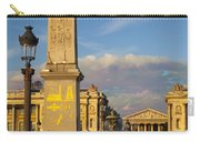 Place De La Concorde Carry-all Pouch