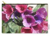 Pulmonaria Named Raspberry Splash Carry-all Pouch