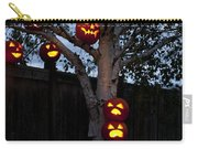 Pumpkin Escape Over Fence Carry-all Pouch