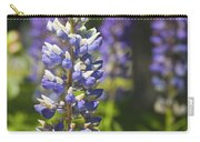Purple Lupine Flowers Carry-all Pouch