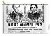 Robert Houdin (1805-1871) Carry-all Pouch