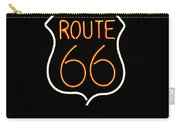 Route 66 Edited Carry-all Pouch