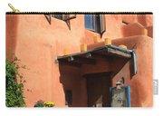 Santa Fe Adobe Building Carry-all Pouch
