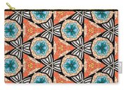 Seamlessly Tiled Kaleidoscopic Mosaic Pattern Carry-all Pouch
