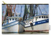 Shrimp Boats On The Creek Carry-all Pouch