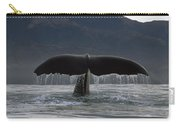 Sperm Whale Tail New Zealand Carry-all Pouch