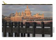 Sunset Over St Pauls Cathedral London Carry-all Pouch