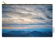 Sunset View Over Blue Ridge Mountains Carry-all Pouch