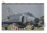 Turkish Air Force F-4 Phantom At Konya Carry-all Pouch