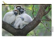 Verreauxs Sifakas Cuddling Carry-all Pouch