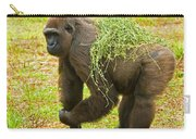 Western Lowland Gorilla Female Carry-all Pouch
