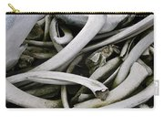 Whale Bones Carry-all Pouch