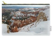Winter Scene, Bryce Canyon National Park Carry-all Pouch