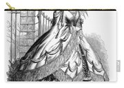 Women's Fashion, 1860 Carry-all Pouch