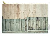 Wooden Background Carry-all Pouch