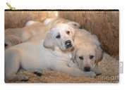 Yellow Labrador Retriever Puppies Carry-all Pouch