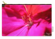 Zonal Geranium Named Tango Neon Purple Carry-all Pouch