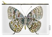 51 Lang's Short-tailed Blue Butterfly Carry-all Pouch