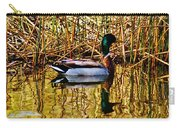 5.4.2014 Wild Mallard Carry-all Pouch