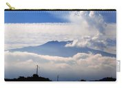 View Of Mt. Etna From Taormina Sicily Carry-all Pouch
