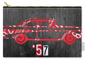 57 Chevy License Plate Art Carry-all Pouch