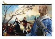 Weimaraner Art Canvas Print  Carry-all Pouch